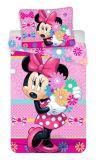 """Povlečení Minnie """"bows and flowers"""""""
