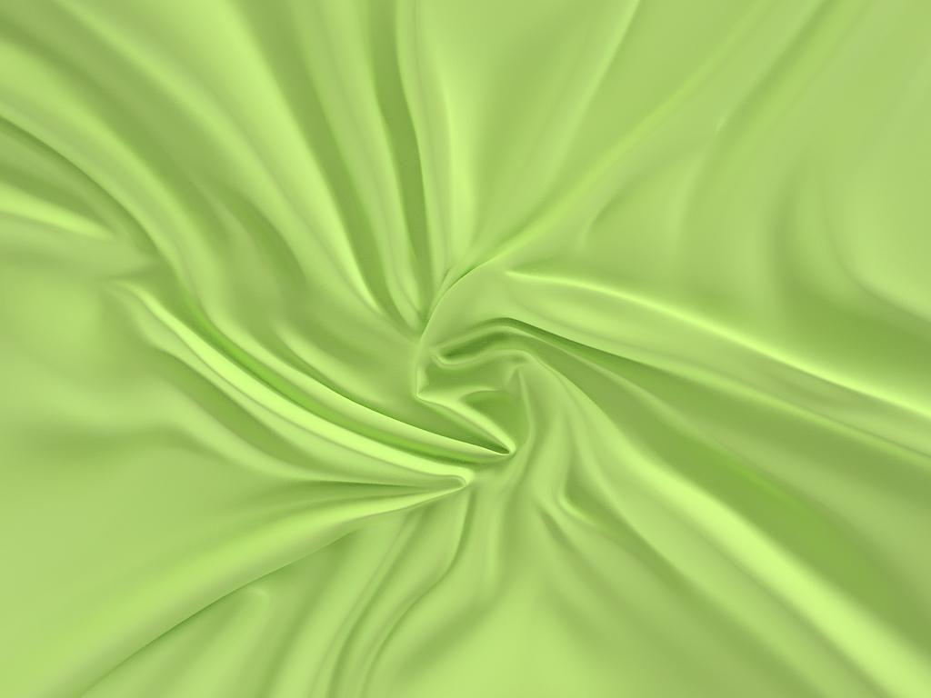 Kvalitní saténové prostěradlo LUXURY COLLECTION ve světle zelené barvě Kvalitex
