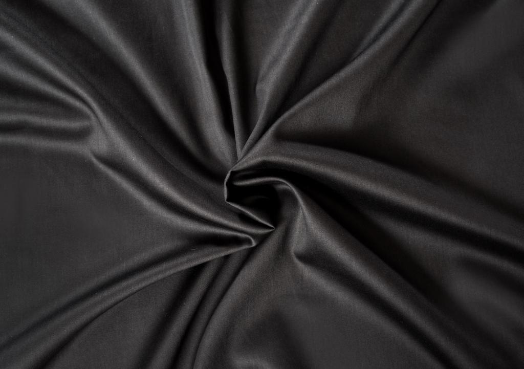 Kvalitní saténové prostěradlo LUXURY COLLECTION v černé barvě Kvalitex