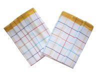 Utěrka Bavlna z egyptské bavlny 50x70 barevný proužek - žlutá 3 ks