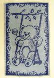 Ručník, ručníček dětský tmavě modrý medvídek Frotex