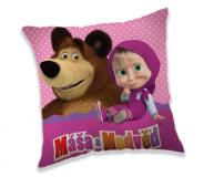 Polštářek Máša a Medvěd dots