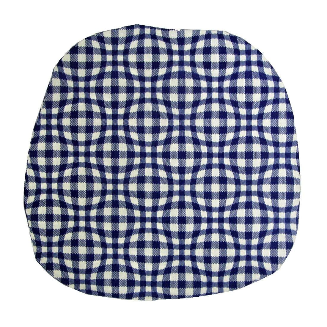Povlak na kuchyňský sedák Kostka modrá Dadka