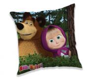 Povlak na polštářek Máša a Medvěd in forest
