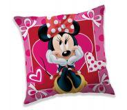 Povlak na polštářek Minnie hearts 02