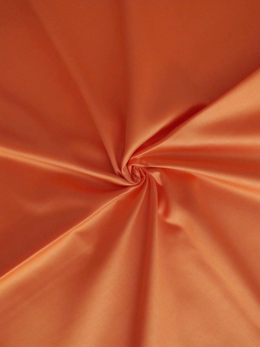 Luxusní saténové povlečení oranžové barvy Dadka