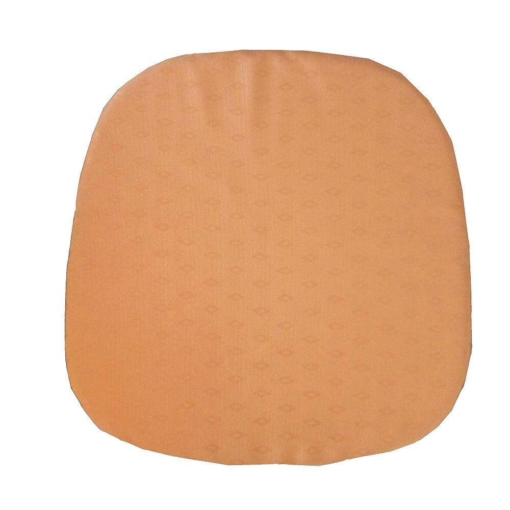 Kuchyňský sedák světle oranžové barvy Dadka