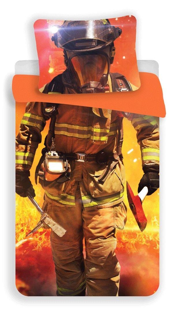 Bavlněné povlečení s motivem hasiče Jerry Fabrics