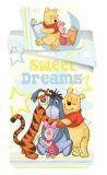 Bavlněné povlečení pro děti s motivem Medvídka Pů Jerry Fabrics