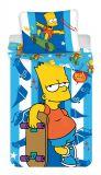 Povlečení Simpsons Bart skater