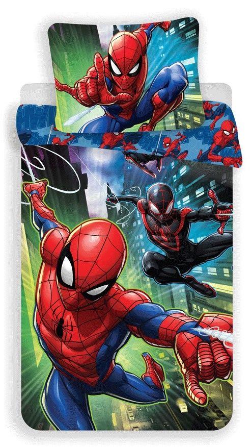Bavlněné povlečení pro chlapce Spiderman Jerry Fabrics