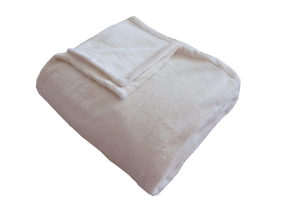 Fine soft deka banánové barvy, hřejivá a heboučká Dadka