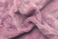 Prostěradlo fialové barvy z mikroflanelu Svitap