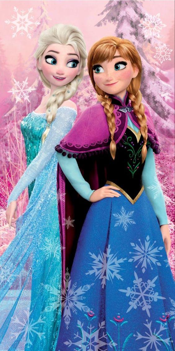 Osuška pro dívky s motivem Frozen, Ledové království Jerry Fabrics