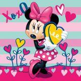 Povlak na polštářek Minnie XOXO