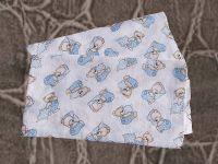 Plena 70x70 cm - Méďa modrý polštář (balení 5 ks) PREM INTERNACIONAL