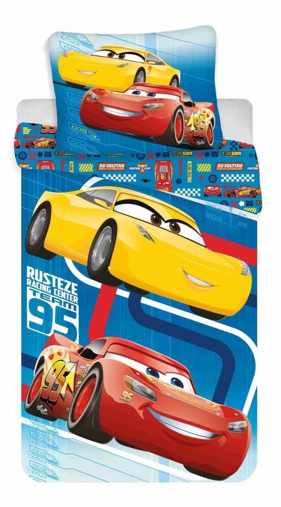 Bavlněné povlečení pro chlapce s motivem Cars Jerry Fabrics