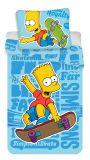 Povlečení Simpsons Bart blue 02