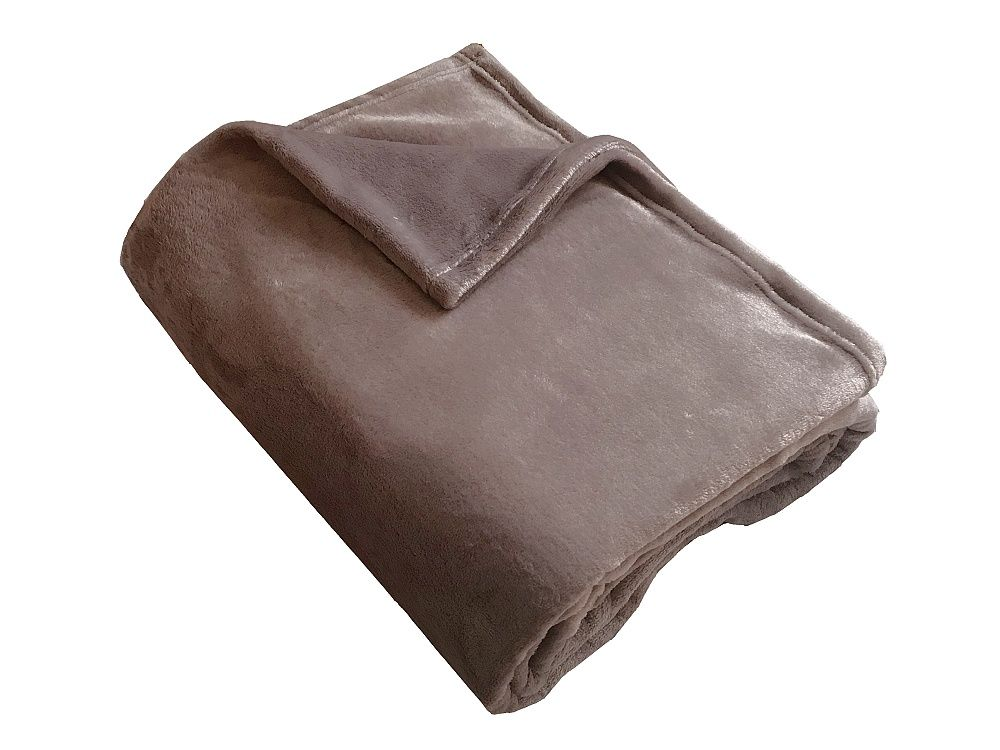 Fine soft deka laděná do hnědé barvy Dadka
