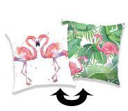 Polštářek s flitry Flamingo 01