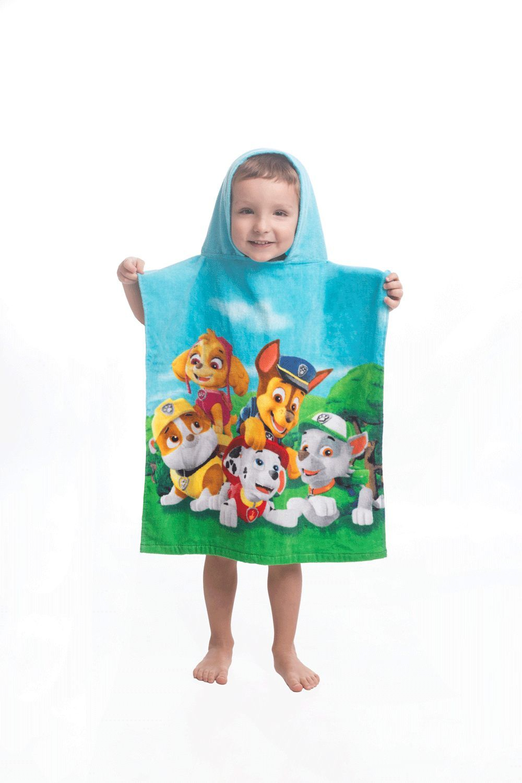 Pončo, ručník pro chlapce Paw Patrol Jerry Fabrics