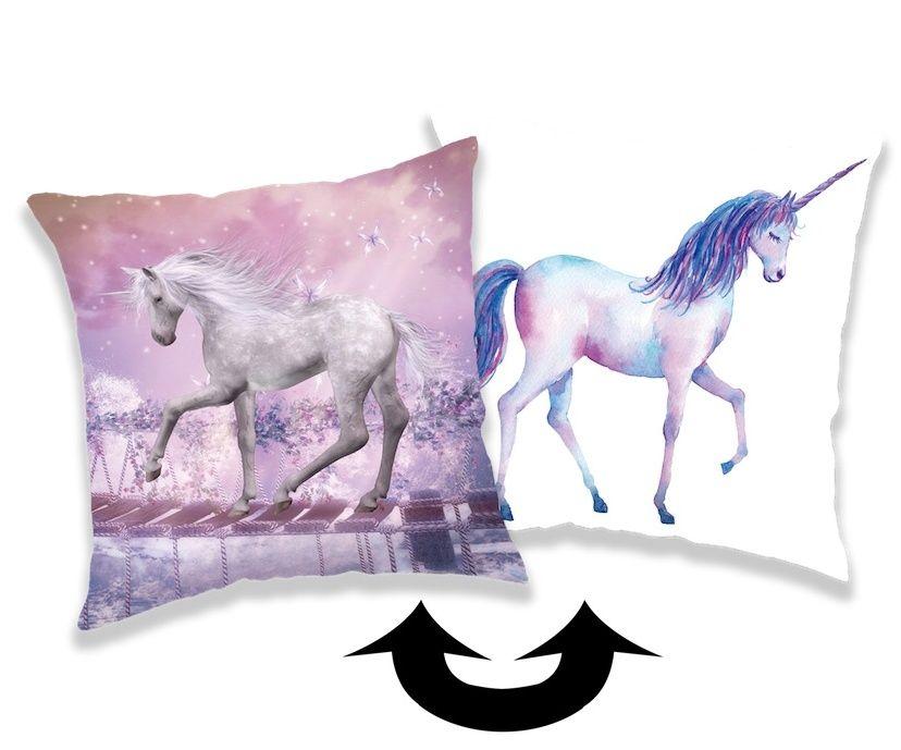Povlak na polštář s motivem Unicorn, jednorožec Jerry Fabrics