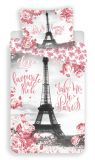 Povlečení fototisk Paris roses