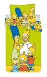Povlečení Simpsons yellow green