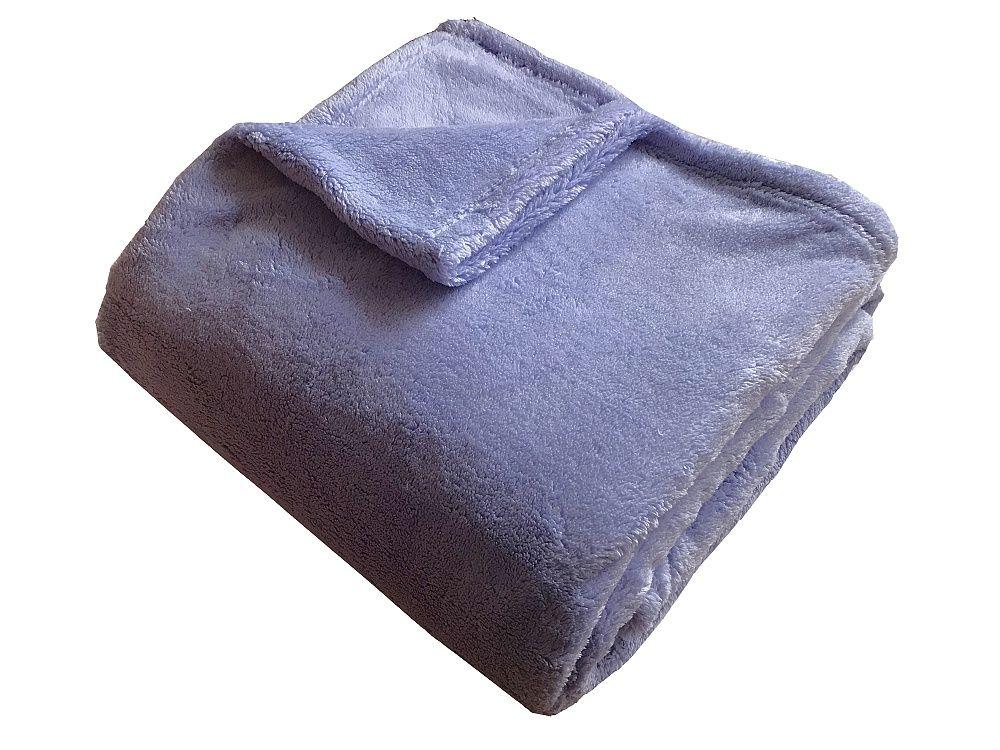 Super soft deka ve fialové barvě Dadka