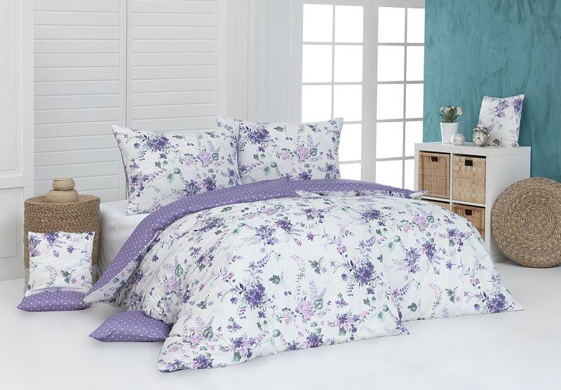 Kvalitní bavlněné povlečení Dallia v nádherných barvách s motivem květin. Matějovský