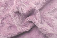 Mikroflanelové prostěradlo růžové (pudrové) Svitap