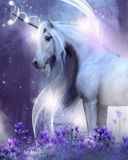 Mikroflanelová dětská deka Unicorn