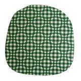 Povlak na kuchyňský sedák Kostka zelená Dadka
