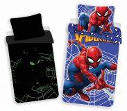 Povlečení pro chlapce se svítícím efektem Spiderman Jerry Fabrics
