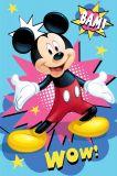 Dětská fleecová deka Mickey Bam