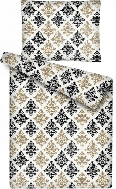 Luxusní povlečení z mikroflanelu s motivem ornamentu Tapeta