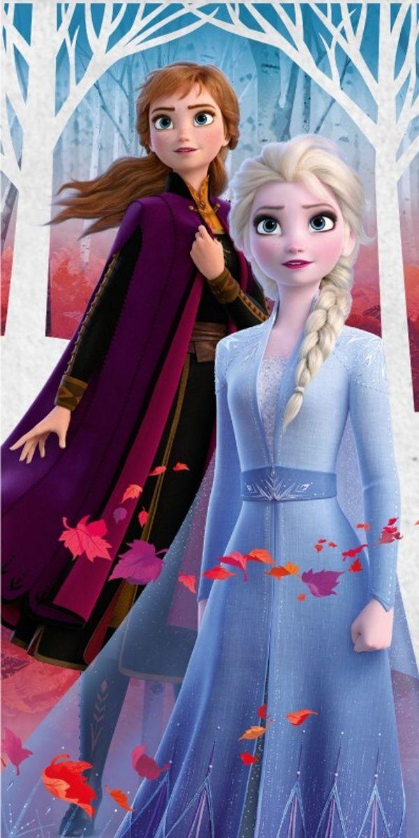 Osuška Frozen 2 Anna a Elsa Jerry Fabrics