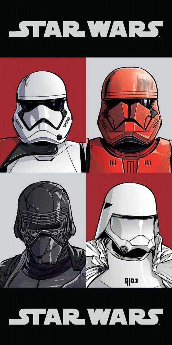 Osuška pro chlapce Star Wars 9 Jerry Fabrics