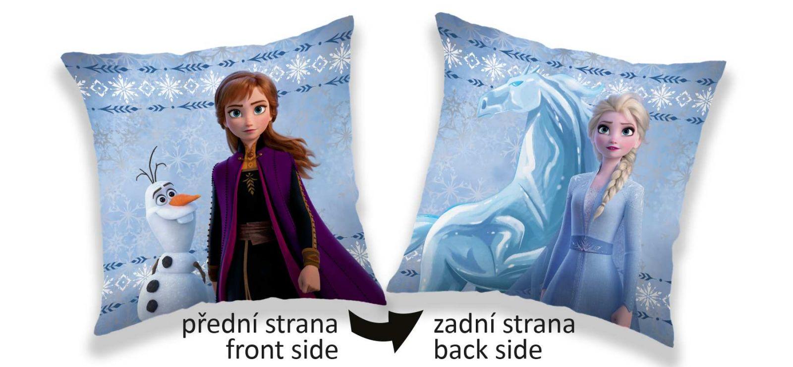 Oboustranný polštářek Frozen 2 sides Jerry Fabrics