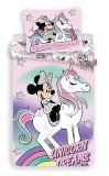 Bavlněné povlečení Minnie unicorn