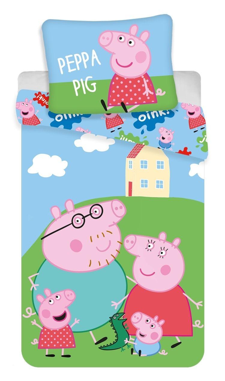 Bavlněné povlečení Peppa Pig, prasátko Pepina 037 Jerry Fabrics