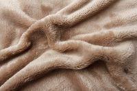 Mikroflanelové prostěradlo čokoládové Svitap
