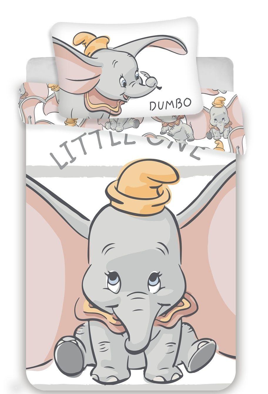 Povlečení do postýlky Dumbo stripe baby Jerry Fabrics