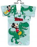 Disney povlečení do postýlky Mickey Dino baby