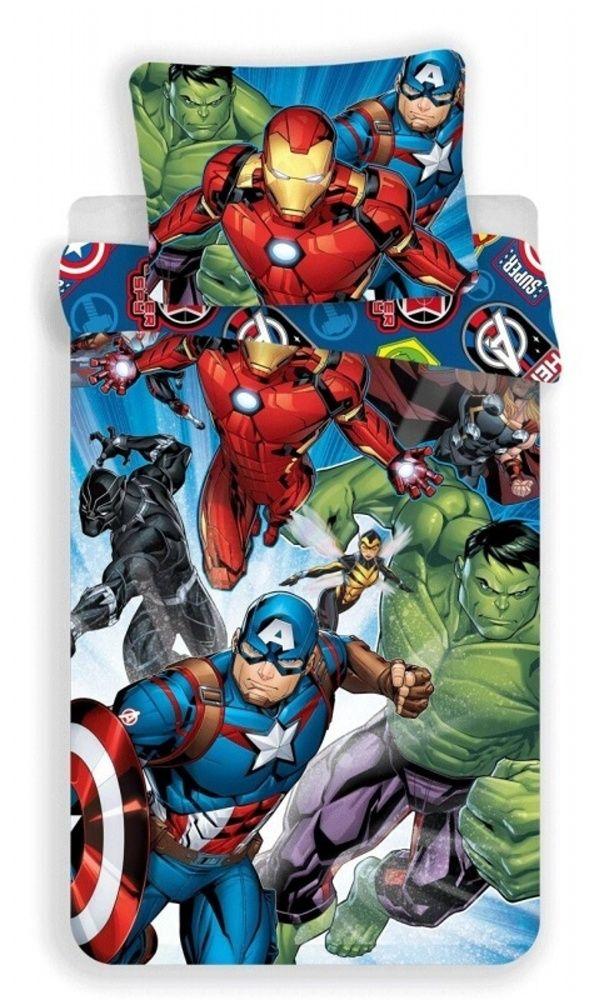Bavlněné povlečení Avengers Brands Jerry Fabrics