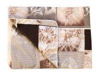 Přehoz bavlna na jednolůžko 140x190 cm Pampelišky 3D Nestandard
