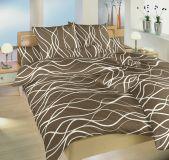 Povlečení bavlna Vlny banánové 140x220, 70x90 cm II.jakost