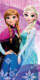 Dětská osuška s motivem Frozen na růžovém podkladu Jerry Fabrics