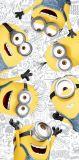 Dětská osuška Mimoni 2 Friends Jerry Fabrics