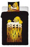 Dětské povlečení Homer Simpson pivo Jerry Fabrics